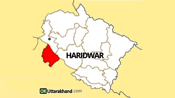 map of haridwar