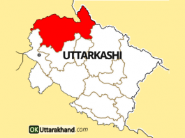 uttarkashi district map